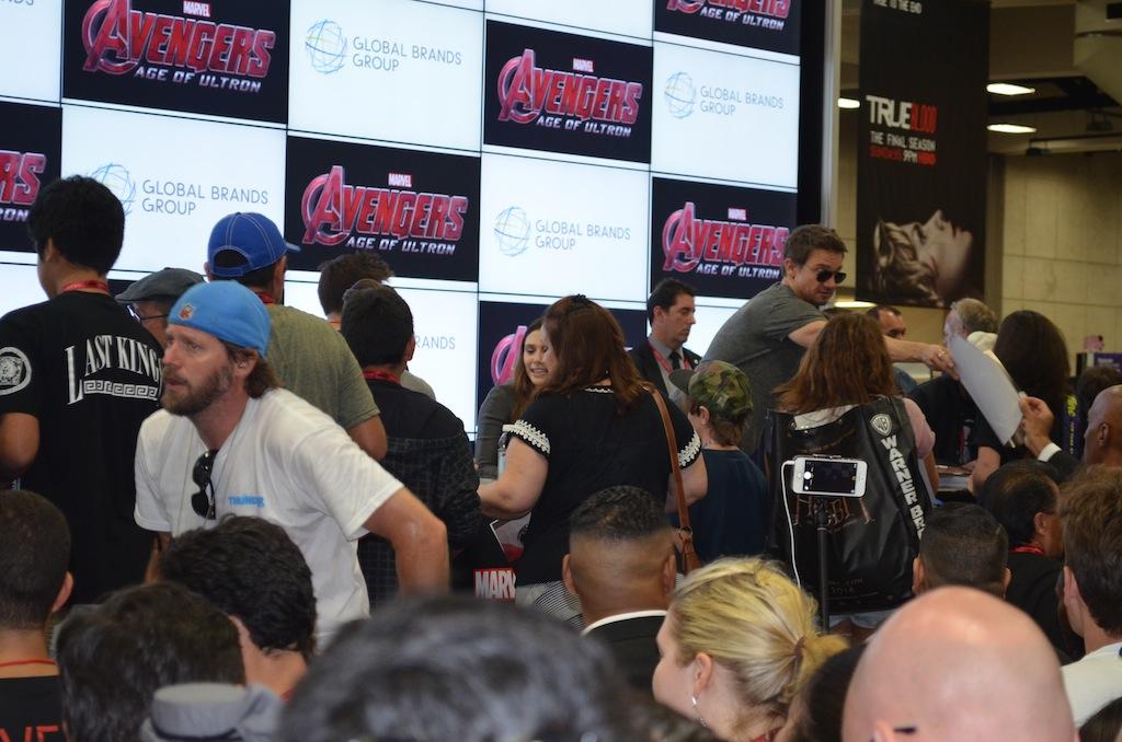 Comic-Con 2014 Jeremy Renner 2