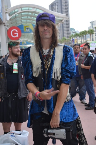Comic-Con 2014 Jesse Camp