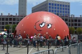 Comic-Con 2014 Meatwad Dome