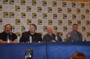Comic-Con 2014 Ron Perlman and Channing Tatum