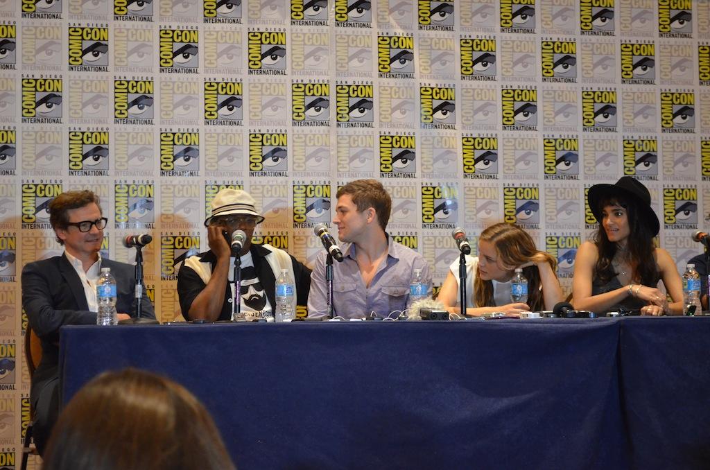 Comic-Con 2014 Sam Jackson Phone Call