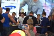 Comic-Con 2014 Taylor-Johnson and Hemsworth