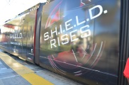Comic-Con 2014 Trolley Agents of SHIELD