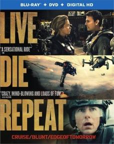Edge of Tomorrow Blu-Ray Box Cover Art