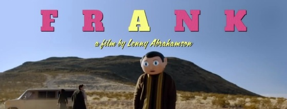 Frank 2014 Movie Title Logo