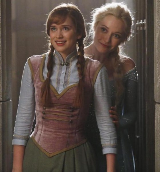 Frozen Anna and Elsa Once Upon a Time