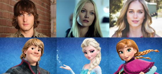Frozen's Elsa, Anna, and Kristoff Officially Cast for Once Upon a Time