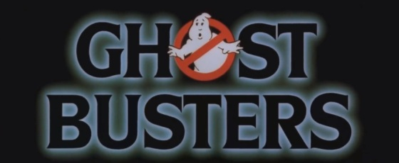 Ghostbusters Movie Logo Title