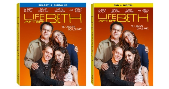 Life After Beth Blu-ray and DVD Box Cover Art