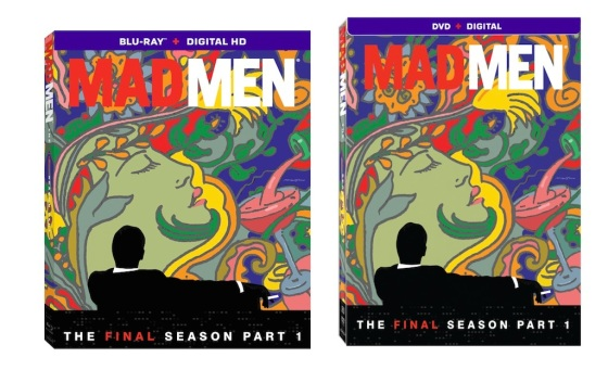 Mad Men Final Season Part 1 Blu-ray Box Cover Art