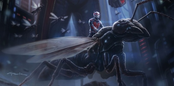 Marvel Begins Ant-Man Production
