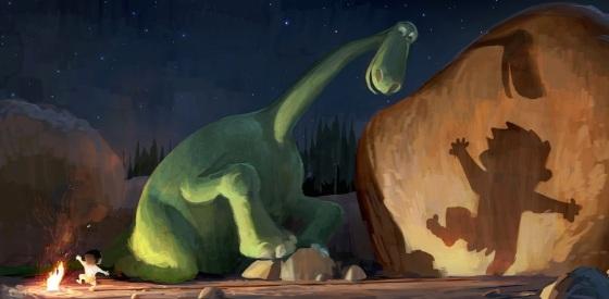 Pixar's The Good Dinosaur Concept Art