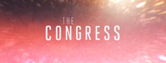The Congress Movie Title Logo