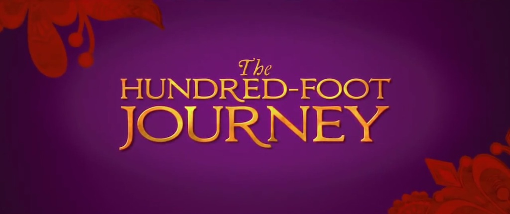 The Hundred Foot Journey Title Movie Logo