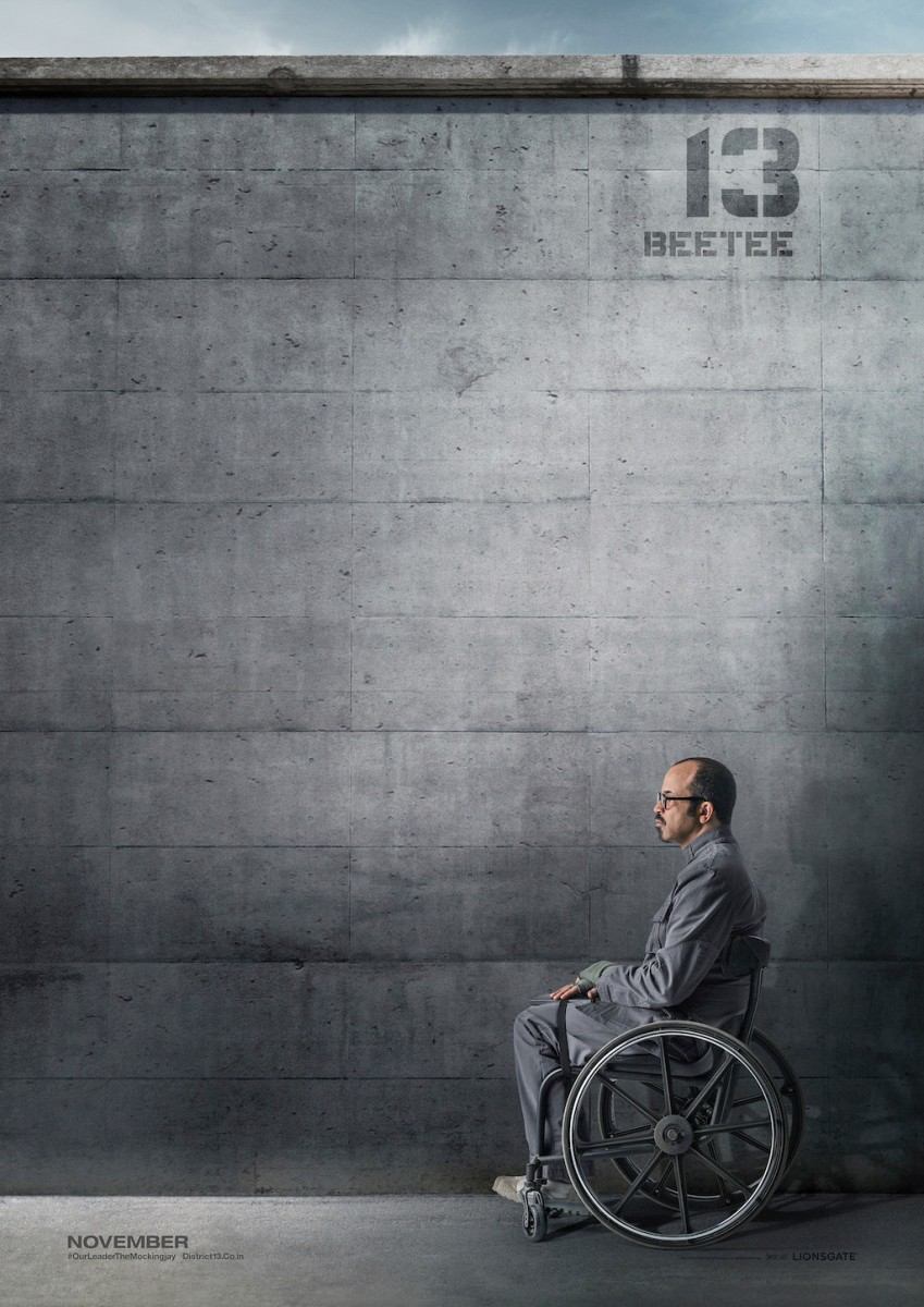 The Hunger Games Mockingjay Part 1 District 13 Poster Beetee Latier