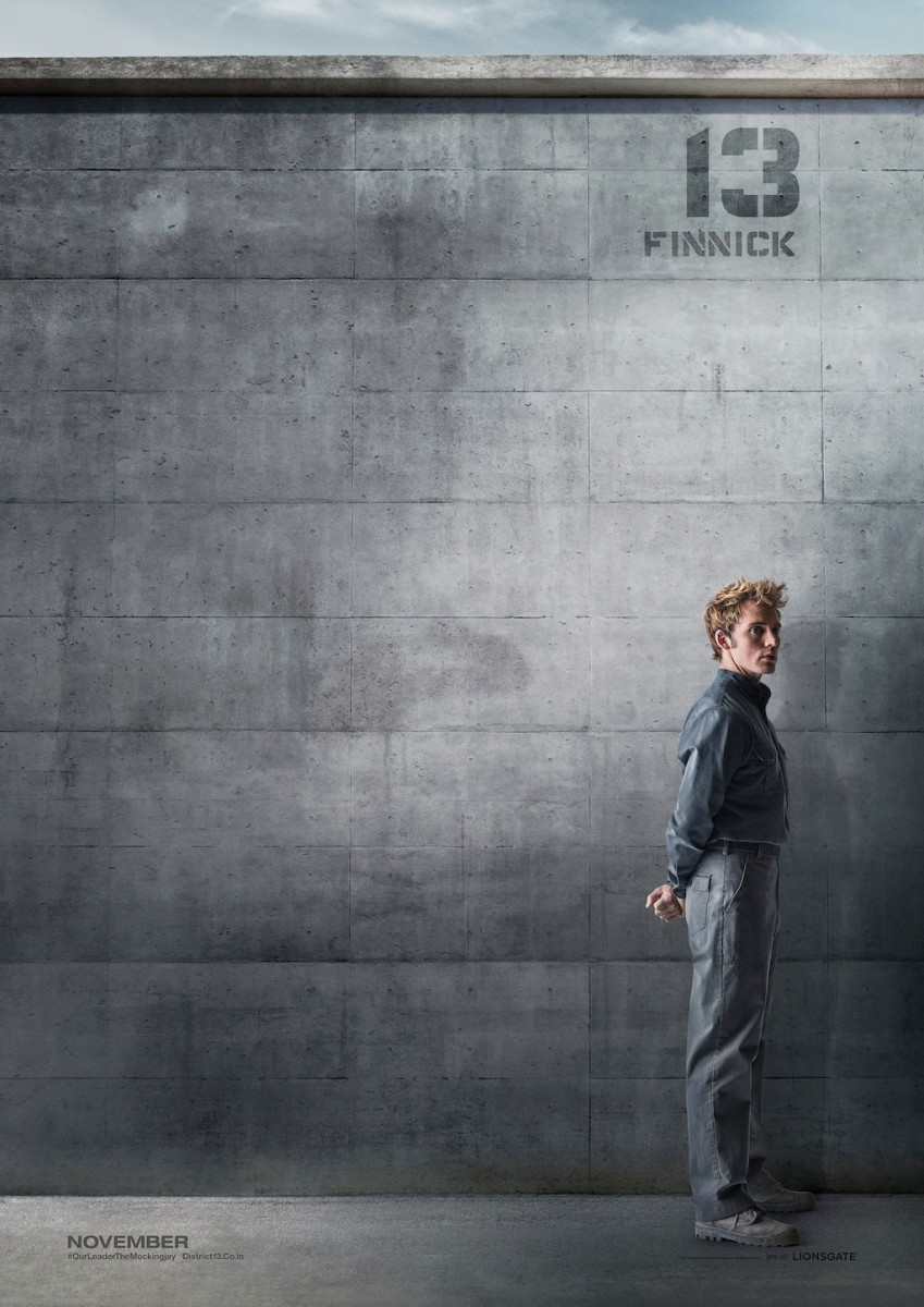 The Hunger Games Mockingjay Part 1 District 13 Poster Finnick Odair