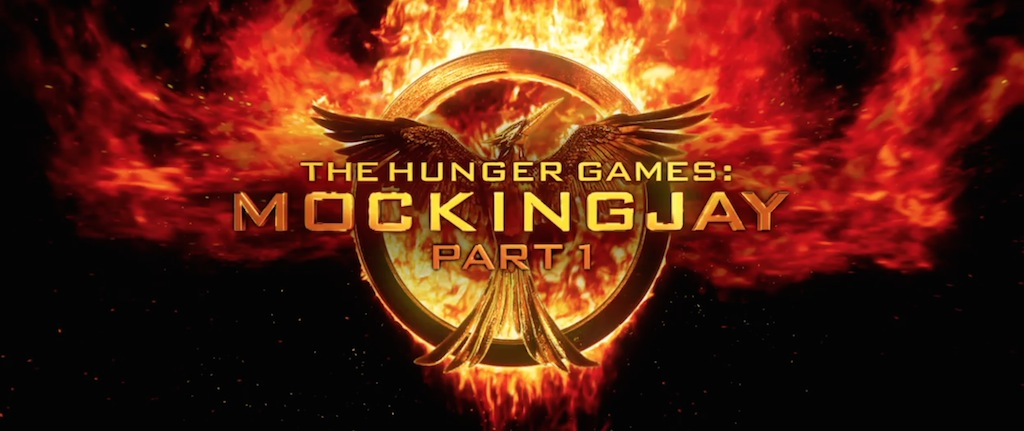 The Hunger Games Mockingjay Part 1 Movie Logo Title