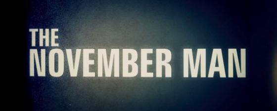 The November Man Title Movie Logo
