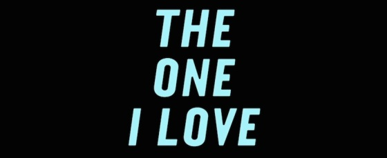 The One I Love Movie Title Logo