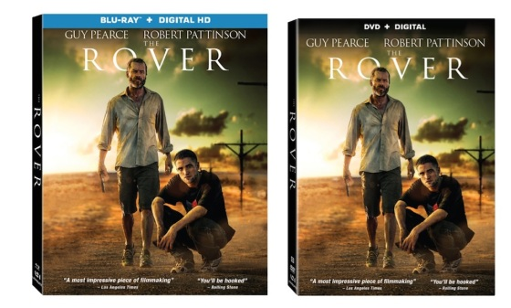 The Rover Blu-Ray and DVD Box Cover Art