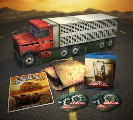"The Texas Chain Saw Massacre 40th Anniversary ""Black Maria"" Limited Edition Box Set Art"