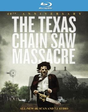 The Texas Chain Saw Massacre 40th Anniversary Blu-Ray Box Art