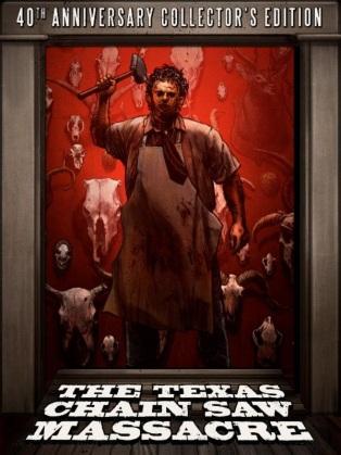 The Texas Chain Saw Massacre 40th Anniversary Box Art