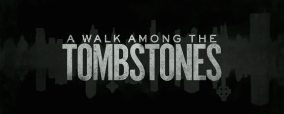 A Walk Among the Tombstones Movie Title Logo