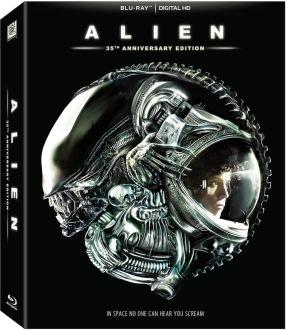 Alien 35th Anniversary Blu-ray box Cover Art