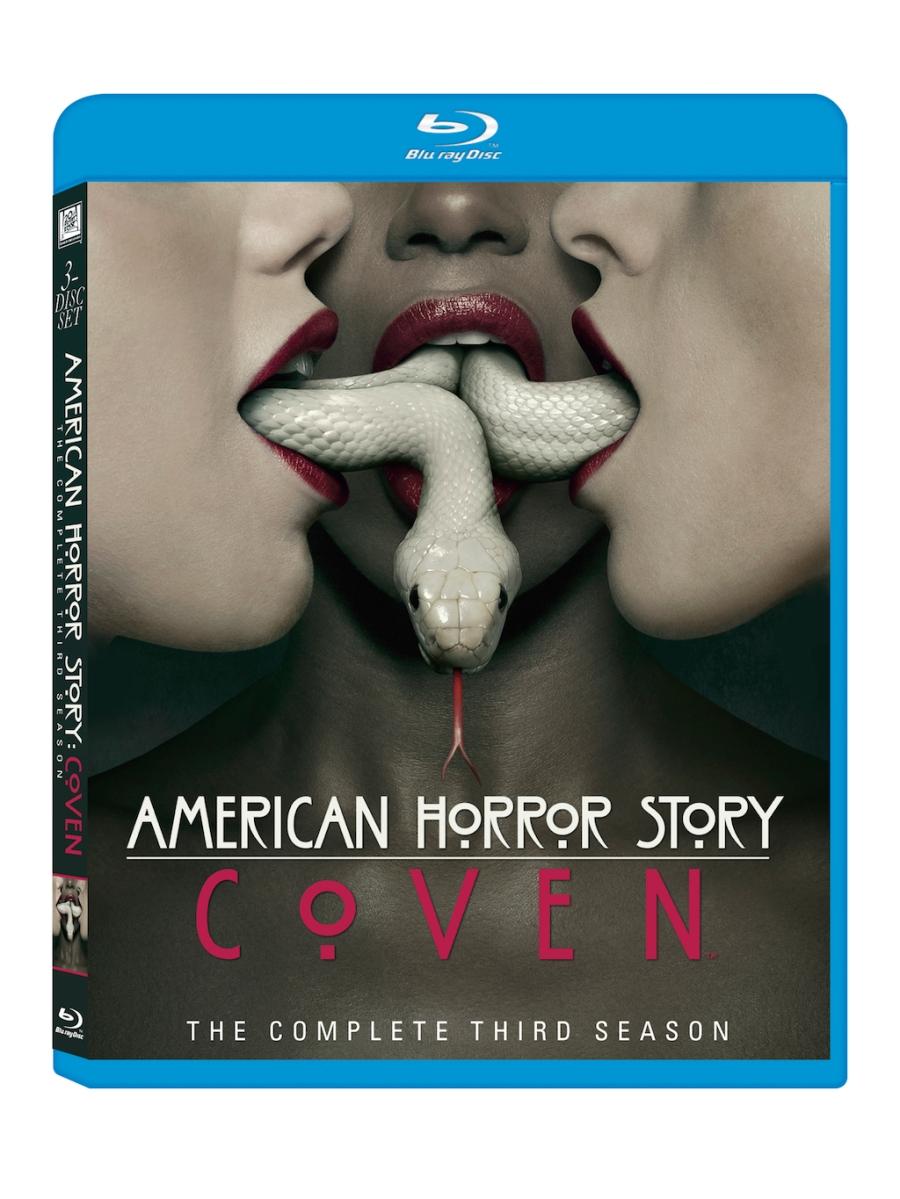 American Horror Story Coven Blu-Ray Box Cover Art
