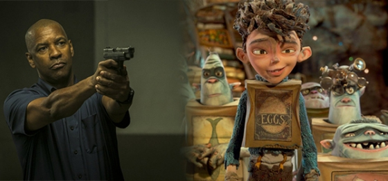 Box Office Battlefield The Equalizer vs. The Boxtrolls