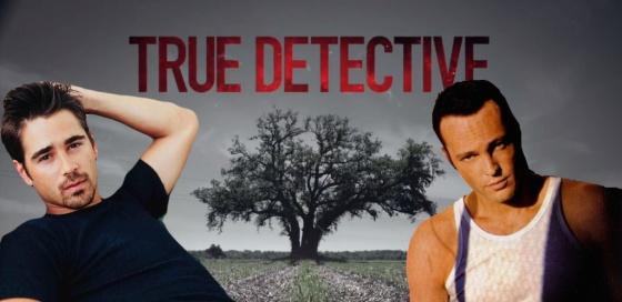Colin Farrell and Vince Vaughn True Detective Season 2