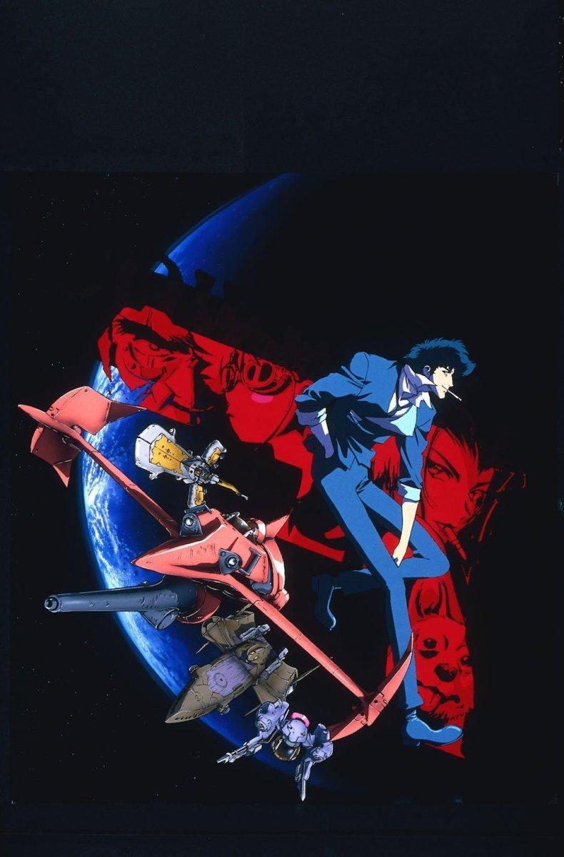 Cowboy Bebop Blu-ray HD Complete Series Art