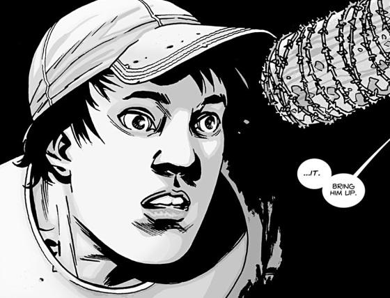 Glenn The Walking Dead Baseball Bat Death
