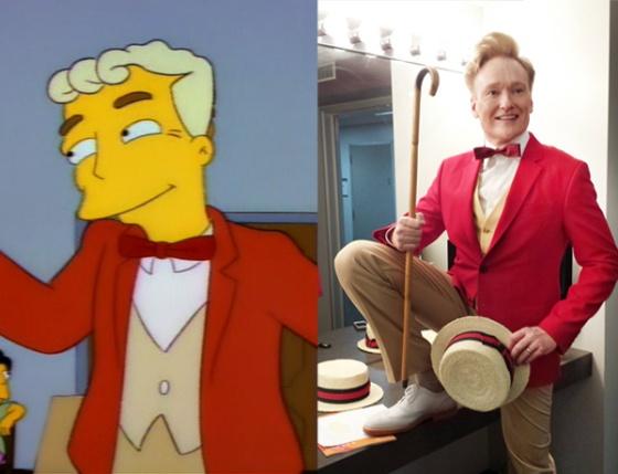 Lyle Lanley Monorail The Simpsons Conan O'Brien