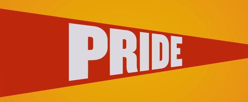 Pride 2014 Movie Title Logo