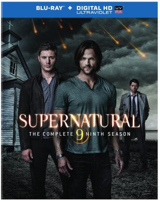 Supernatural Season 9 Blu-Ray Box Art