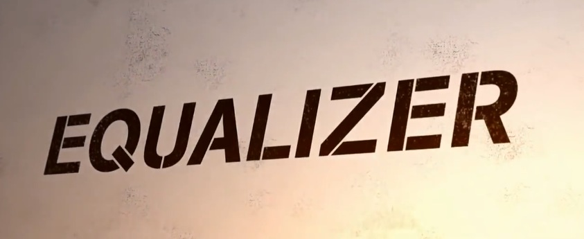 The Equalizer 2014 Movie Title Logo
