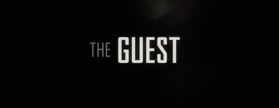The Guest 2014 Movie Title Logo