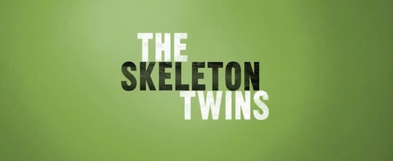 The Skeleton Twins 2014 Movie Title Logo