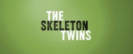 The Skeleton Twins 2014 Movie Title Logo