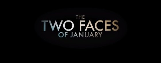 The Two Faces of January Movie Title Logo