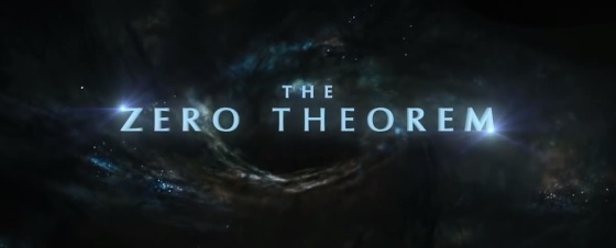 The Zero Therom Movie Title Logo