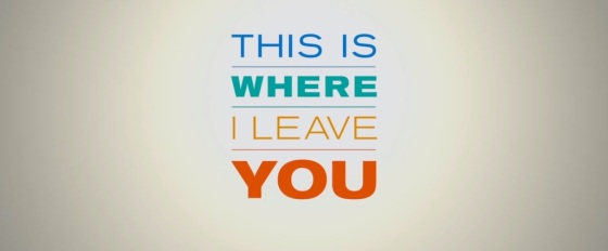 This is Where I Leave You Movie Title Logo
