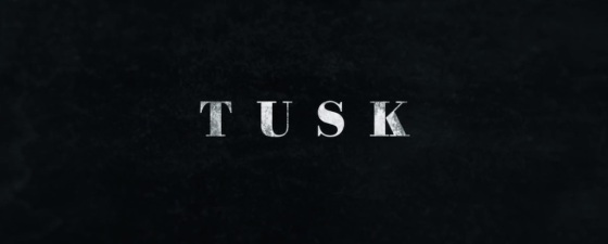 Tusk 2014 Movie Title Logo