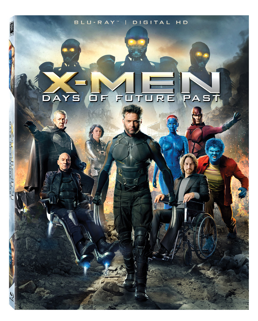 X-Men Days of Future Past Blu-Ray Box Cover Art