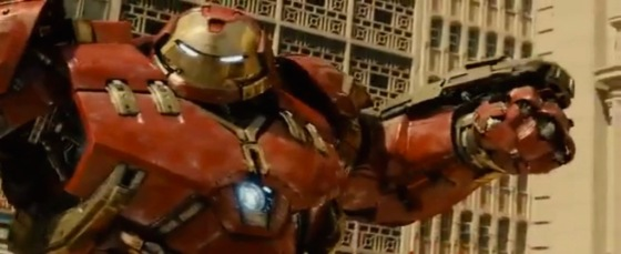 Avengers 2 Age of Ultron Trailer Leak Screenshot Hulkbuster Armor 4