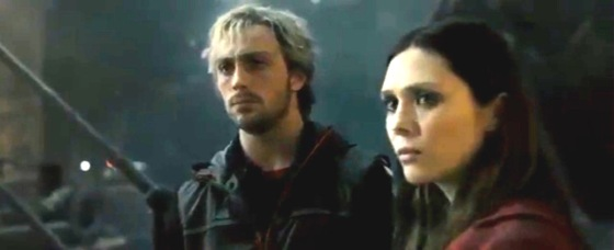 Avengers 2 Age of Ultron Trailer Leak Screenshot Scarlet Witch and Quicksilver