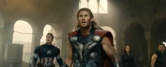 Avengers 2 Age of Ultron Trailer Leak Screenshot Thor Chris Hemsworth