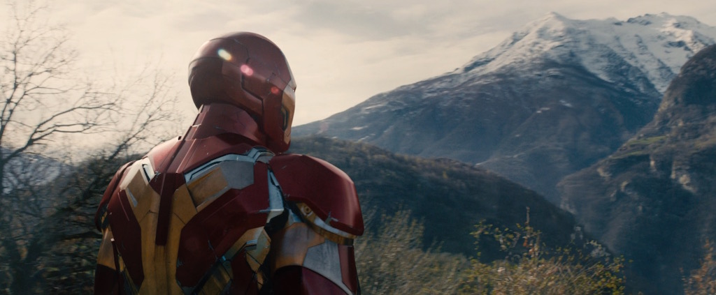 Avengers 2 Age of Utlron Screenshot Iron Man Back Suit Armor